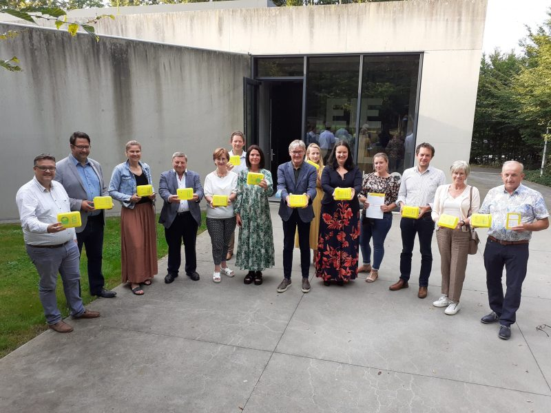 Gele doos intrede Zuid-West-Vlaanderen