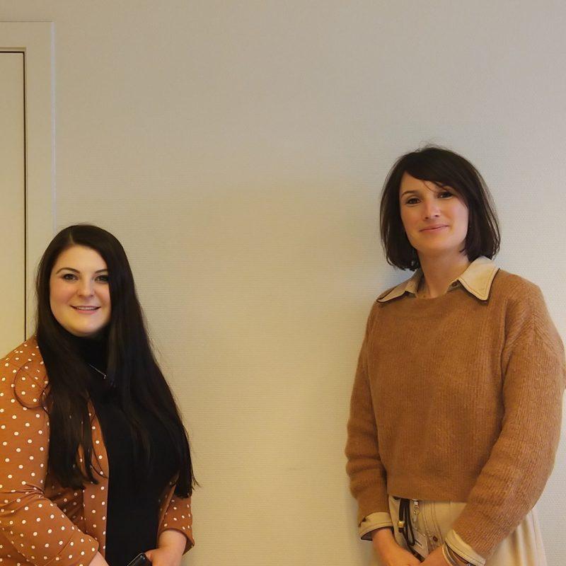 Aysun Güler, intercultureel bemiddelaar & Sofie Goderis, coördinator interculturele bemiddeling - AZ Sint-Lucas